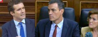 """Casado acribilla a Sánchez a cuenta de sus socios de investidura: """"Hasta el señor Otegi, previo blanqueamiento en TVE, desea que usted sea presidente"""""""