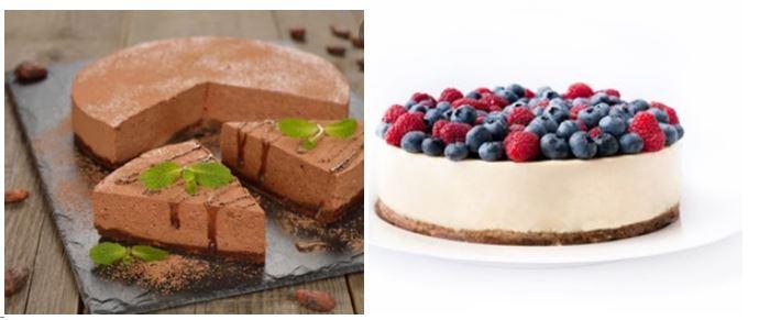 Receta de cheesecake de chocolate