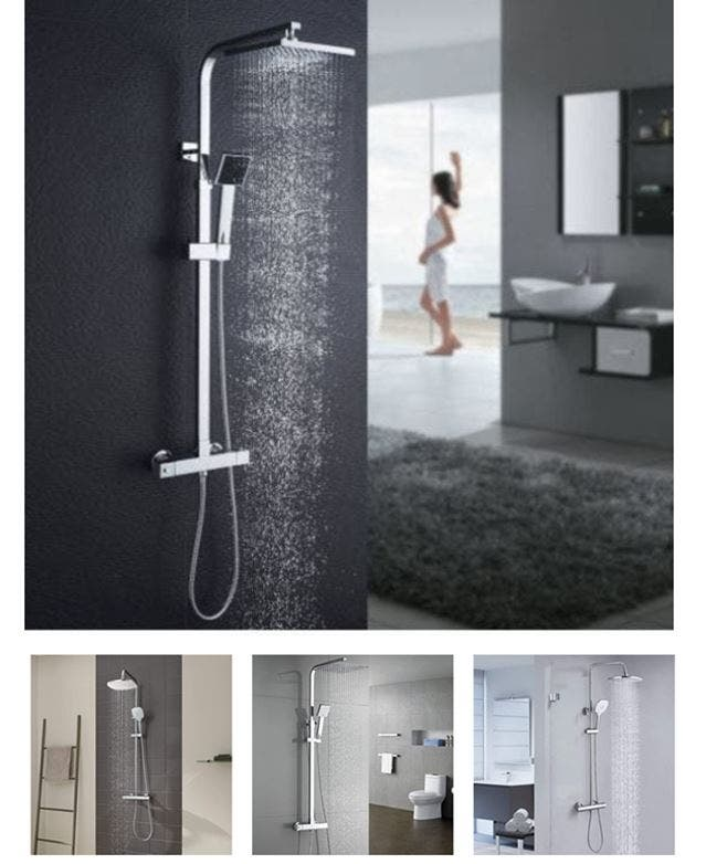 Mejores columnas de ducha termostáticas