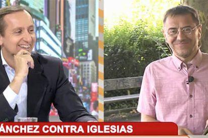 """Carlos Cuesta fulmina a Monedero: """"¡Queréis pactar con el PSOE de los ERE!"""""""
