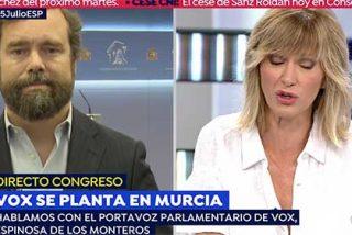 Espinosa de los Monteros deja muda a Griso después que la presentadora fuera a pillarle con el monotema del Orgullo Gay