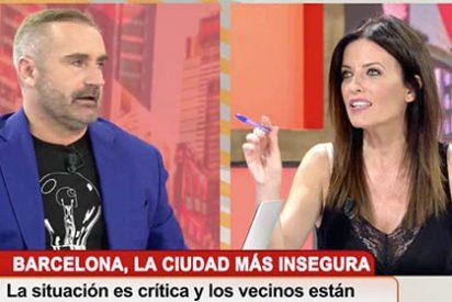 Un tertuliano muy fino intenta silenciar a Cristina Seguí, histérico por sus opiniones