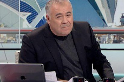La cara del revés que se le ha quedado a Ferreras por el fiasco de la reunión Iglesias-Sánchez
