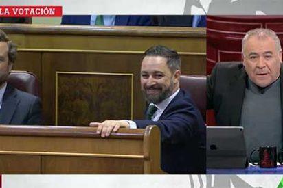 'El subjetivo' de Antonio García Ferreras: Twitter le baja el pulgar al de laSexta por su asquerosa censura a Abascal