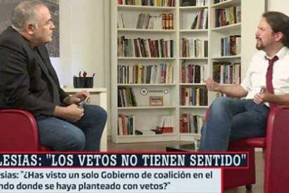 """El país sin gobierno y Pablo Iglesias y Ferreras con estas gilipolleces: """"¿Tú una serpiente, Antonio? Yo te veo más como un oso amoroso"""""""