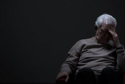 Fotografía de la depresión en la edad avanzada