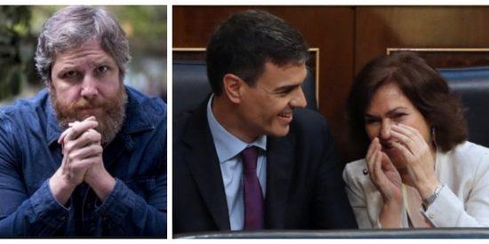 """El Quilombo: Gistau estalla contra las gamberradas de Sánchez y Calvo: """"No paran de burlarse de otros a mandíbula batiente"""""""