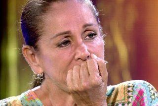 El derrumbe (falso) de Isabel Pantoja  y sus extrañas palabras sobre Chelo García Cortés de las que nadie habla