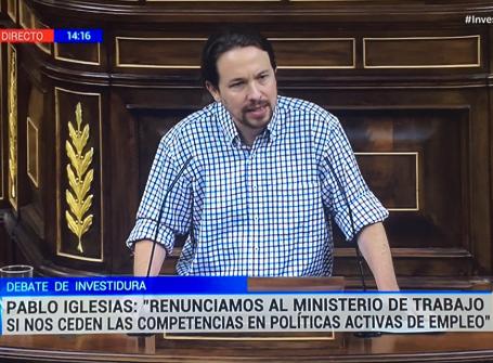 """Pablo Iglesias escupe a la cara de Sánchez todo su odio: """"Una negociación de Gobierno no merece ser cutre"""""""