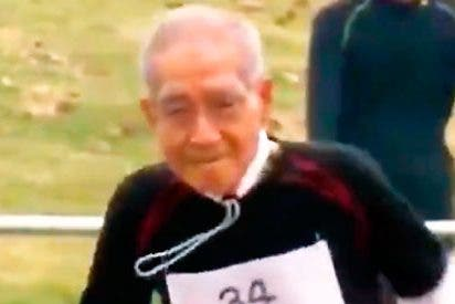 El japones de 102 años que ha emocionado al mundo entero corriendo los 100 metros lisos