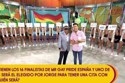 Telecinco roza el escándalo 'cosificando' a los gays: obliga a un chico a tener una cita con Jorge Javier Vázquez