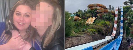 Así fue la bajada en tobogán que desgarró el útero a una turista en Canarias