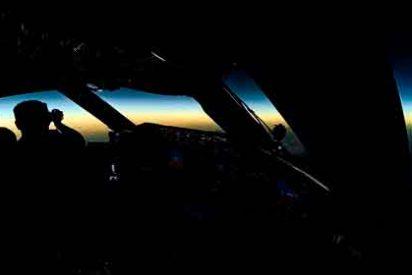 Un vuelo de LATAM Airlines ha sido el único en el mundo en seguir la sombra del eclipse total
