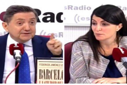 Olona (Vox) traslada las quejas de sus militantes por las críticas al partido en esRadio y Losantos los 'manda' a escuchar la Cope