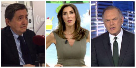Losantos fulmina a Paz Padilla y Pedro Piqueras por darle bombo a la no entrevista a Sánchez: