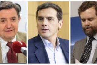 """Losantos estalla ante el despropósito de Rivera (C's) y Espinosa (Vox) en Murcia: """"Es una cosa repugnante lo del chuleta de la Barceloneta y el zumbado de la aristocracia"""""""