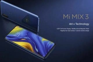 Xiaomi Mi Mix 3 precio