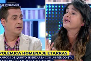 Los homenajes a etarras tensionan las tertulias: Lucía Etxebarria estalla en el plató de Antena3