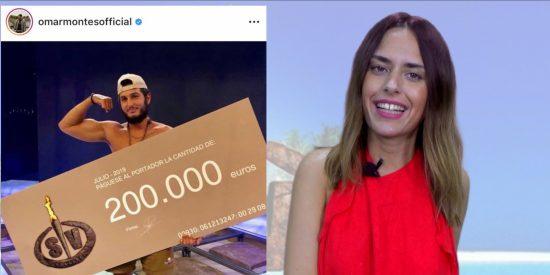 Las mejores reacciones de los famosos a la victoria de Omar Montes en 'Supervivientes'