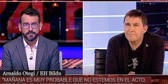 """La TVE de Rosa María Mateo se reafirma en su blanqueamiento a Otegi: """"Estamos con la libertad"""""""