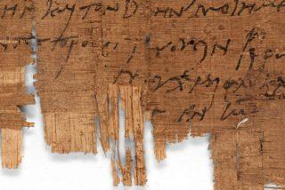 Un equipo de científicos identifica el manuscrito cristiano más antiguo del mundo