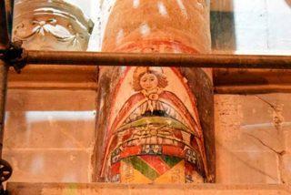 Descubren unas pinturas de gran valor artístico e histórico en la Catedral de Palencia