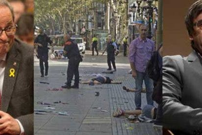 Las auténticas cloacas: el independentismo político y mediático se sirvió de la 'pestilencia' de Público para insinuar que el Estado estaba detrás de los atentados de Las Ramblas