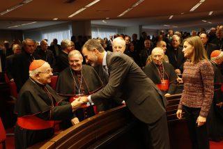 El rey sobre el cardenal Estepa: 'Nunca olvidaremos su cercanía con nuestra familia'