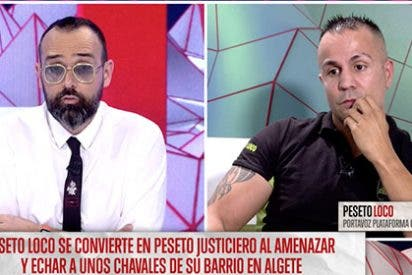 ¡Qué duro es el verano! Risto y sus matones invitan a Peseto Loco para humillarle en TV