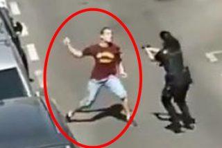 El drama de la agente de la Policía que casi es apuñalada: era su primer día de prácticas