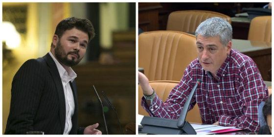 Los diez momentazos en los que a Rufián y Bildu solo les faltó arrodillarse para implorar un Gobierno de Sánchez