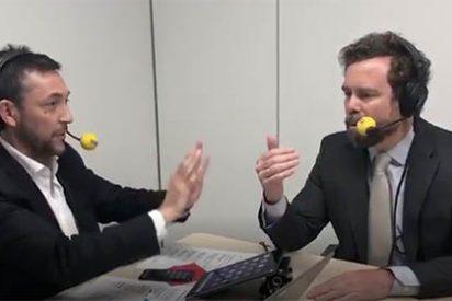 Espectacular: Espinosa (Vox) vacuna de la rabia a Javier Ruiz en apenas 20 segundos de entrevista en la SER