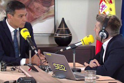"""El bestial enfado de Sánchez en la SER por la """"consulta mascarada"""" de Iglesias: """"No tengo ya más que decir"""""""