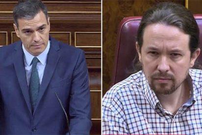 La amenaza de un 'Frente Popular' se diluye: Podemos opta por la abstención y Sánchez e Iglesias se llaman de todo