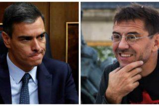 Monedero saca su faceta más bocachancla asegurando que en septiembre Sánchez será presidente y Twitter le pone morado a zascas