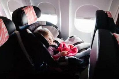 Sillas de bebé para el avión