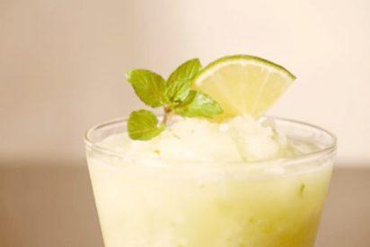 Receta de sorbete de limón light