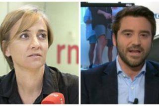 Javier Negre le propina un revolcón de época a Tania Sánchez a cuenta del machismo imperante en Podemos