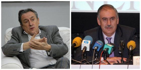 """Hermann Tertsch coge por el cuello al periodista de La Voz de Galicia por un artículo manipulado contra el franquismo: """"Es una mierda escrita con los pies"""""""