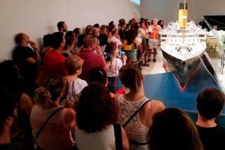 """Trece mil personas han visitado ya la exposición """"Titanic. The Reconstruction"""""""