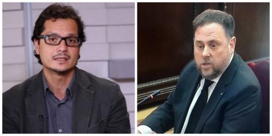 Nacho Torreblanca desenmascara al 'inocente' Junqueras y le acusa de seguir dirigiendo las delegaciones de Cataluña en el extranjero