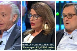 Marhuenda, Inda y Claver entonan una extravagante defensa de Zapatero que deja mudo al plató de laSexta Noche