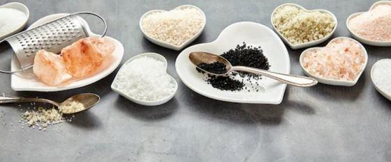 Propiedades de la sal negra del Himalaya