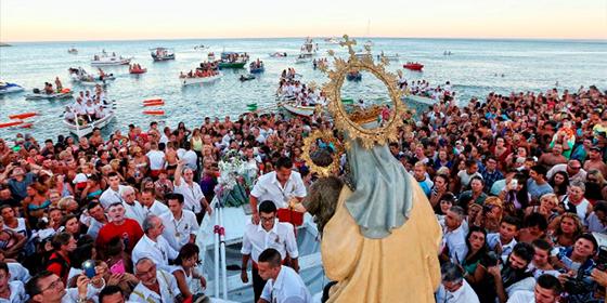 Qué ver en Málaga: Fiestas de la Virgen del Carmen