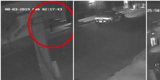 Sale a la luz el video que muestra el momento en que patrullas interceptan a la joven violada por policías mexicanos