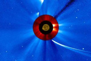 La NASA capta el instante en el que un cometa es absorbido por el Sol
