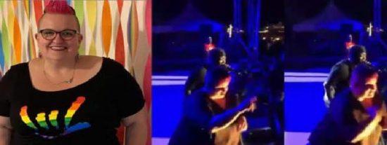 Expresiva experta en lenguaje de signos eclipsa al rapero Twista en su propio show