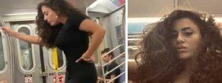 Aspirante a influencer se desmelena mientras se hace selfis en el metro de Nueva York