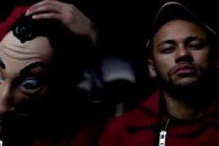 El ubicuo Neymar participará en 'La casa de papel' interpretando a un monje