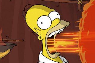 Fanáticas de 'Los Simpson' dan vida a una de las más recordadas y míticas escenas de la serie